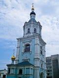Rezurekcyjna Kościelna dzwonnica, Sumy, Ukraina Zdjęcie Royalty Free