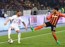 Ukraiński Najważniejszy liga: Dynamo Kyiv v Shakhtar Zdjęcia Stock