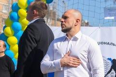 Ukraiński polityk Ilya Kiva obrazy stock