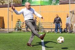 Ukraiński polityk Ilya Kiva zdjęcie stock