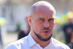 Ukraiński polityk Ilya Kiva fotografia stock