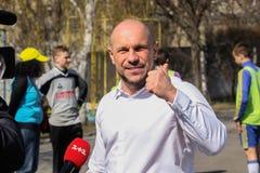 Ukraiński polityk Ilya Kiva zdjęcie royalty free