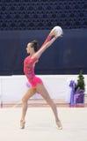Ukraiński Rytmicznych gimnastyk mistrzostwo 2014 zdjęcie royalty free