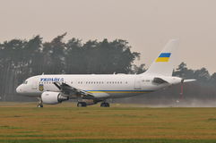 Ukraiński rzędu samolot Obraz Royalty Free
