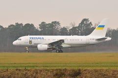 Ukraiński rzędu samolot Fotografia Royalty Free