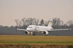 Ukraiński rzędu samolot Obrazy Stock