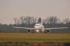 Ukraiński rzędu samolot Zdjęcie Royalty Free
