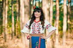 Ukraińska kobieta smilling Fotografia Royalty Free