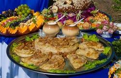 Ukraińska krajowa kuchnia fotografia royalty free