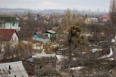 Ukraińska wioska Zdjęcia Stock