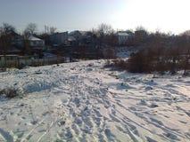 Ukraińska zima Fotografia Stock
