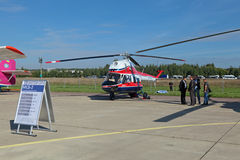 Ukraiński helikopter MCB-2 Zdjęcia Stock