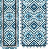 Ukraiński krajowy ornament Obrazy Royalty Free