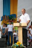 Ukraiński polityk Fotografia Royalty Free