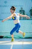 Ukraina atleta zdjęcia royalty free