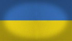 Ukraina flaga zdjęcie royalty free