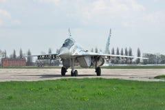 Ukraina flygvapen MiG-29 royaltyfria bilder