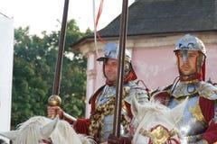 Ukraina Kamyanets Podilsky Oktober 3, 2009 Festivalen av högt Arkivbilder