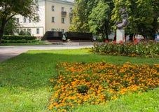 Ukraina, Khmelnitskiy, Druga Wojna Światowa pomnik zdjęcie royalty free
