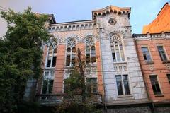 Ukraina Kiev Kyiv arkitektur 14 Augusti 2016 royaltyfri bild