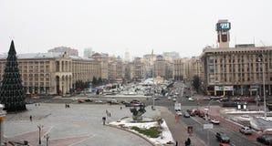 Ukraina Kiev, Maidan Nezalezhnosti 2013 Royaltyfri Bild