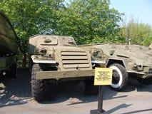 Ukraina kiev Pamiątkowy kompleks muzeum Wielka Patriotyczna wojna Militarny wyposażenie ACR BTR Obrazy Royalty Free