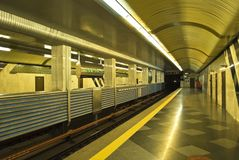 Ukraina kiev subway Stock Images