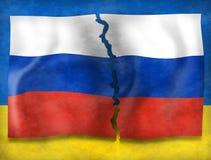 Ukraina kryzys Obrazy Royalty Free