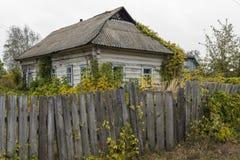 Ukraina lantbrukarhem Fotografering för Bildbyråer