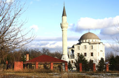 Ukraina.Mariupol. Mariupol. Mosque of Suleiman and Roksolana Stock Photos