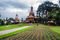 Ukraina minnes- Curitiba Brasilien Arkivbilder