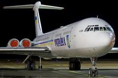 Ukraina regering Il-62 Royaltyfri Fotografi