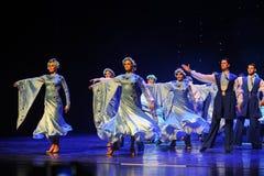 Ukraina sala balowej Ukraina egzota Austria światowy taniec Fotografia Stock