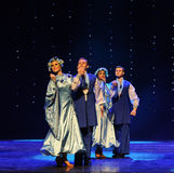 Ukraina sala balowej Ukraina egzota Austria światowy taniec Obrazy Royalty Free