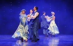 Ukraina sala balowej Ukraina egzota Austria światowy taniec Obrazy Stock