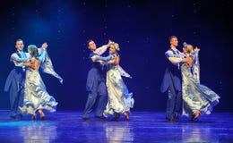 Ukraina sala balowej Ukraina egzota Austria światowy taniec Zdjęcia Royalty Free
