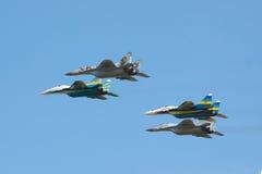 Ukraina siły powietrzne MiG-29 Zdjęcie Stock