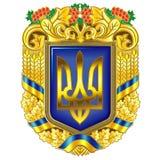Ukraina stanu symbole Fotografia Stock