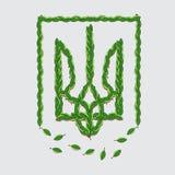Ukraina tecken Vektor Illustrationer