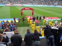 Ukraina vs Białoruś zdjęcie royalty free