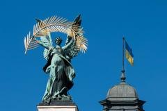Ukraina - wielki kraj w Europa zdjęcia stock