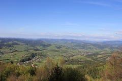 Ukrainare Carpathians arkivbild