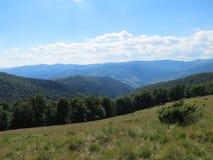 Ukrainare Carpathians Royaltyfria Foton