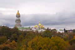 Ukrainarekyrka - Lavra Royaltyfri Bild