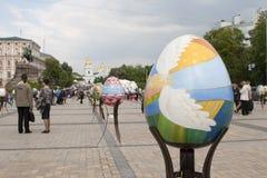 UkrainarePysanky festival Arkivbild