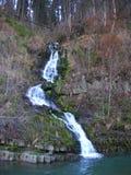 ukraine övre sikt för carpathian berg Vattenfall Fotografering för Bildbyråer