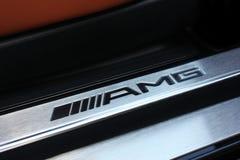 Kiev, Ukraine; June 25, 2013; AMG emblem. Mercedes logo. stock photography