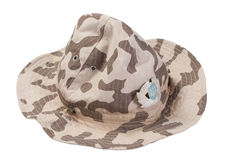 Ukraine army camouflage hat Stock Image