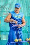 Ukraine-Athlet lizenzfreies stockbild