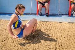 Ukraine-Athlet Lizenzfreie Stockbilder